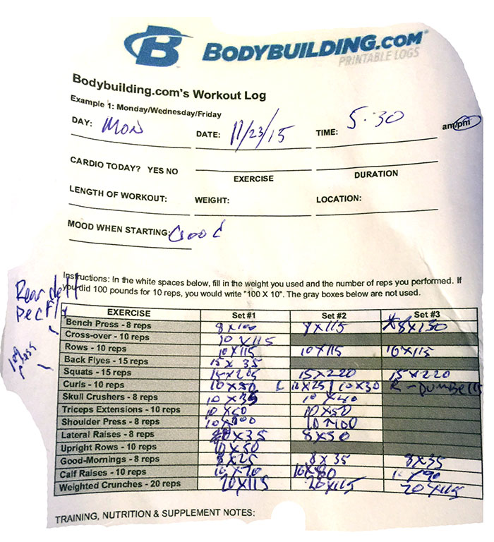 Day 18 Workout
