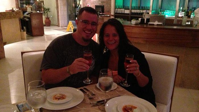 Me & Nikki in Mexico