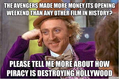 Pirating Movies Meme