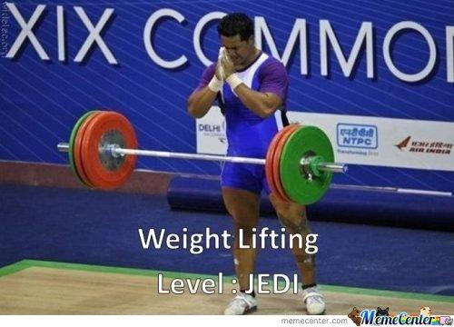 Weight Lifting Meme