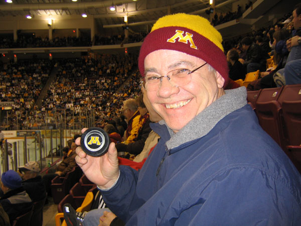 03-11-05 Dad and the Puck that hit him