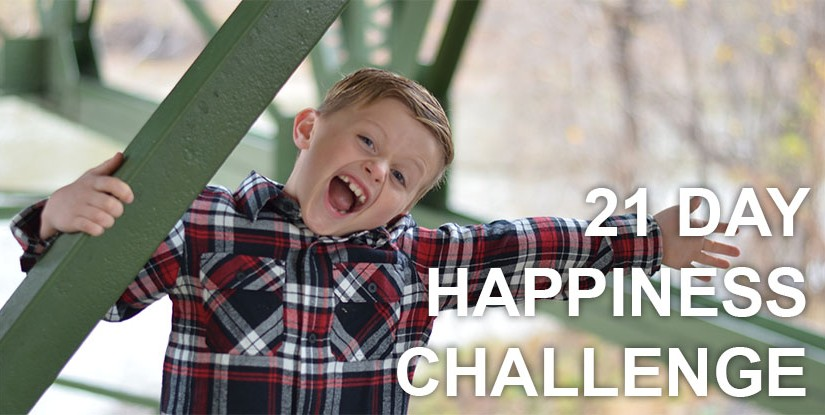 21 Day Happiness Challenge – The Happiness Advantage