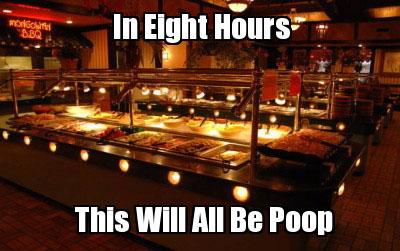 Buffet Poop