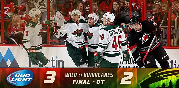 Minnesota Wild Win in OT