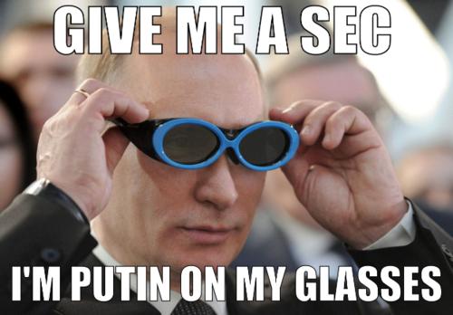 Putin Glasses